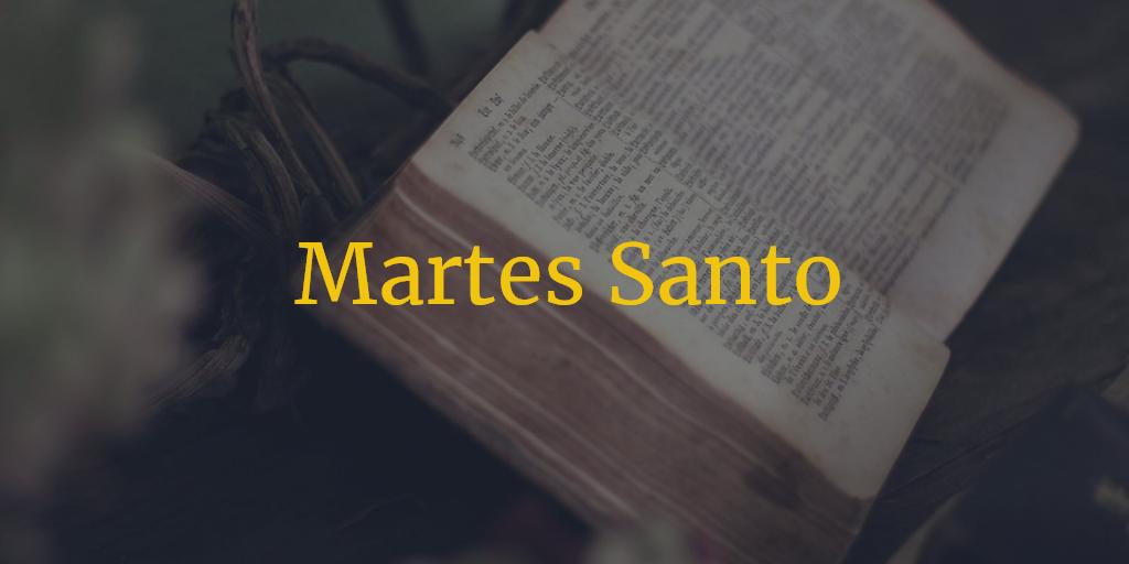 Horarios e Itinerarios Martes Santo Semana Santa Sevilla
