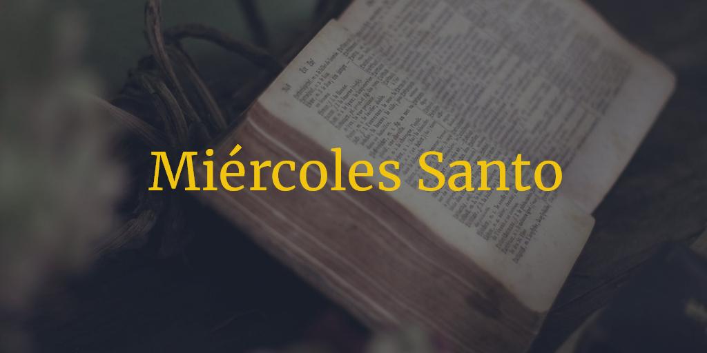 Horarios e Itinerarios Miércoles Santo Semana Santa Sevilla